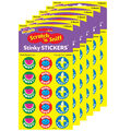 Friendly Fruit-Fruit Punch Stinky Stickers 6 Packs