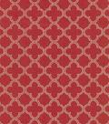 Home Decor 8\u0022x8\u0022 Fabric Swatch-Waverly Framework Red