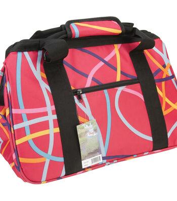 "JanetBasket Eco Bag 18""X10""X12""-Ribbons"