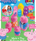 CraZart Softee Dough Peppa Pig 3D Mold Maker
