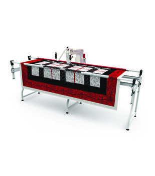 The Grace Company Q'Nique 15M Mid-Arm Quilting Machine and Frame