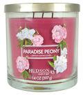 Hudson 43 Candle & Light 14 oz. Paradise Peony Scented Jar Candle