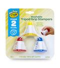 Crayola Washable Tripod Grip Stampers 3/Pkg