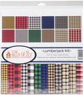 Ella & Viv Collection Kit 12\u0022X12\u0022-Lumberjack