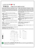 Mccall Pattern V8826 6-8-10-12--Vogue Pattern