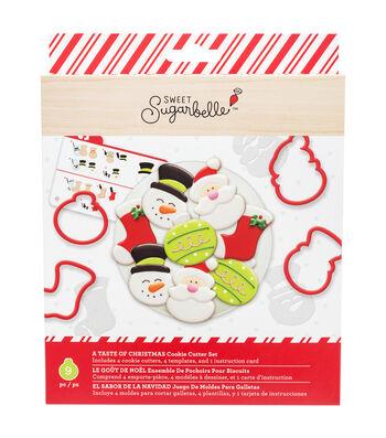 Sweet Sugarbelle Christmas Cookie Cutter Set-Taste of Christmas
