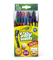 Crayola Silly Scents Mini Twist Crayons 24/Pkg, , hi-res