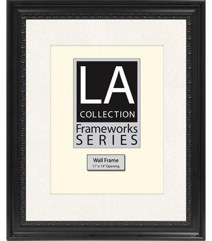 LA Collection Frameworks Series Wall Frame 16''x20''-Black