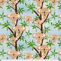 Super Snuggle Flannel Fabric-Koala Party