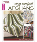 Leisure Arts Cozy Comfort Afghans: Mary Maxim Crochet Book
