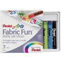 Fabric Fun Pastel Dye Sticks 7/Pkg-Assorted Colors