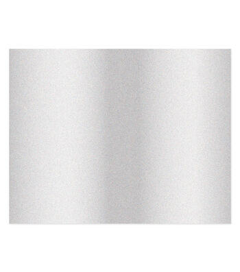 American Crafts We R Memory Keepers Glitter Poster Board-Silver