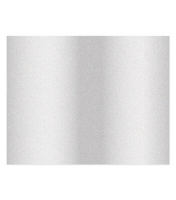 Poster Board-Silver Glitter