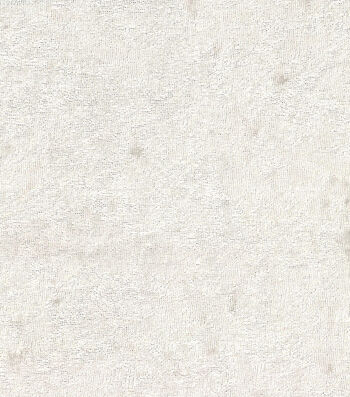 Glitterbug Solid Crushed Panne Fabric -White