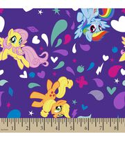 Hasbro My Little Pony Print Fabric-Ponies, , hi-res