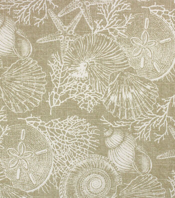 Solarium Outdoor Decor Fabric 54''-Natural Elijah