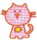 Pink Cat Applique