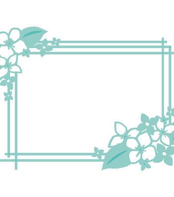 "Kaisercraft Decorative Die-Hydrangea Rectangle 5.5""X4"""