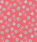 Snuggle Flannel Fabric -Little Flowers
