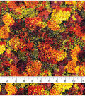 Harvest Cotton Fabric-Packed Mum Bouquets