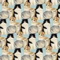 Super Snuggle Flannel Fabric-Realistic Kitty