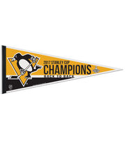 Pittsburgh Penguins 2017 Stanley Cup Champions Felt Pennant, , hi-res