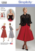 Simplicity Pattern 1250R5 14-16-18-2-Special Occasion