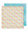 Vicki Boutin Field Notes Double-Sided Cardstock 12\u0022X12\u0022-Happy Heart