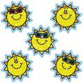 Carson Dellosa Dazzle Stickers Suns 12 Packs