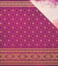 Bombay Sunset Double-Sided Cardstock 12\u0022X12\u0022-Sari
