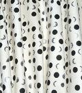 Ellen DeGeneres Upholstery Fabric 54\u0027\u0027-Charcoal Crescent