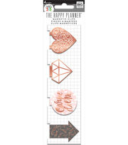 The Happy Planner 4 Pack Magnetic Clips-Rose Gold, , hi-res