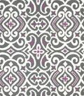 Robert Allen@Home Best Lightweight Decor Fabric 54\u0022-Damask Nickel