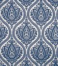 Home Decor 8\u0022x8\u0022 Fabric Swatch-Print Fabric Eaton Square Farrell Marine
