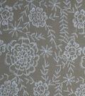 Amaretto Linen Fabric 57\u0027\u0027-Taupe