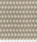 Genevieve Gorder Multi-Purpose Fabric-Fringe Benefits Pewter