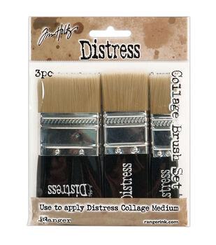 Tim Holtz Distress Collage Brush Assortment