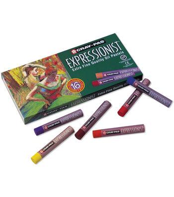 Cray-Pas Expressionist Oil Pastels 16/Pkg