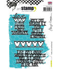 Carabelle Studio Birgit Koopsen 4 pk Cling Stamps-Smile, Love & Dancing