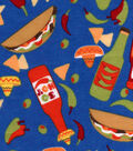Snuggle Flannel Fabric -So Hot Peppers & Tacos