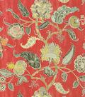 Home Decor 8\u0022x8\u0022 Fabric Swatch-Waverly Asian Myth Radish