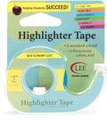 Fluorescent Highlighter Tape .5\u0022X720\u0022-Blue