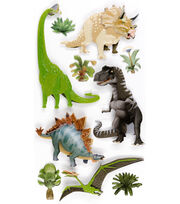 Jolee's Boutique Stickers-Dinosaurs, , hi-res