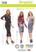 Simplicity Pattern 1258A Xxs-Xs-S-M-Sportswear