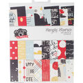 Simple Stories Double-Sided Paper Pad 6\u0022X8\u0022-Say Cheese III