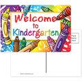 Welcome to Kindergarten Postcards, 30 Per Pack, 6 Packs
