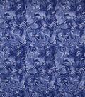 Wide Cotton Fabric-Monaco Blue Oil Slick