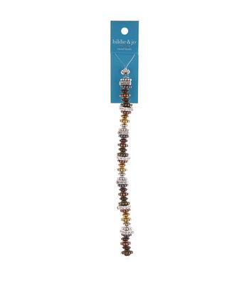 hildie & jo 6.5'' Metal Spacer Strung Beads