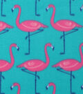 Blizzard Fleece Fabric 59\u0022-Flamingo