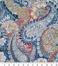 Robert Allen @ Home Print Swatch 55\u0022-Zen Paisley Porcelain